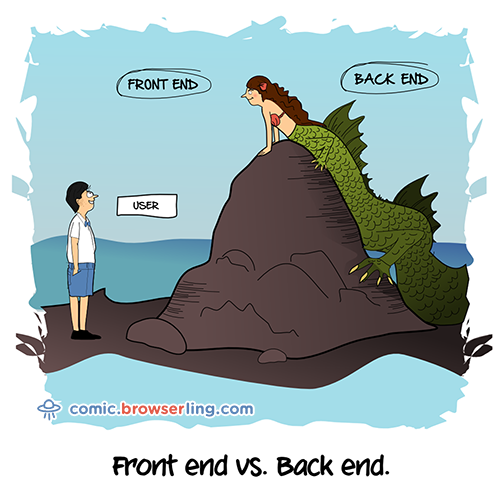 Front-End contra Back-End